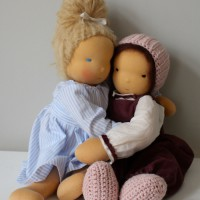Dolls love each other
