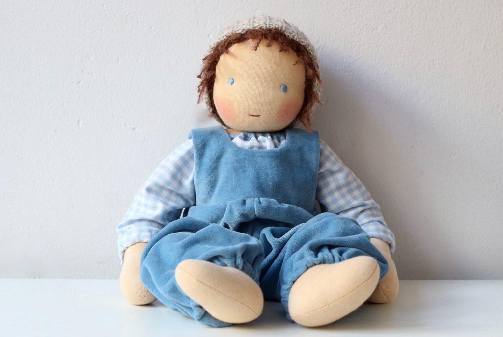 Waldorf baby doll Gustav 4 by feinslieb, Berlin