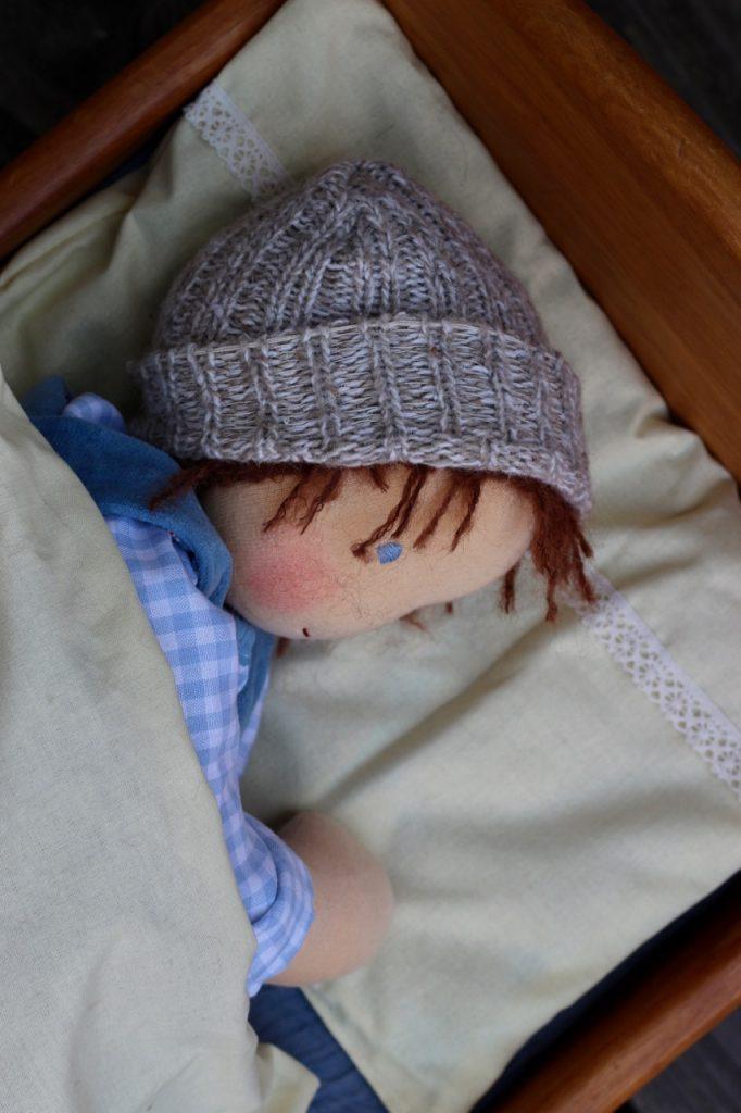 Waldorf baby doll Gustav 9 by feinslieb, Berlin
