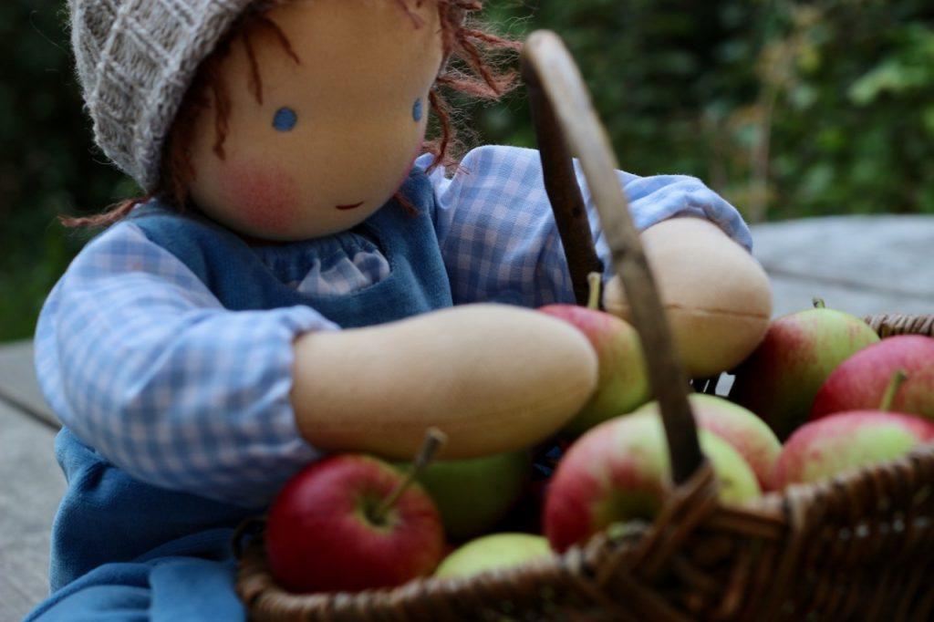 Waldorf baby doll Gustav 1 by feinslieb