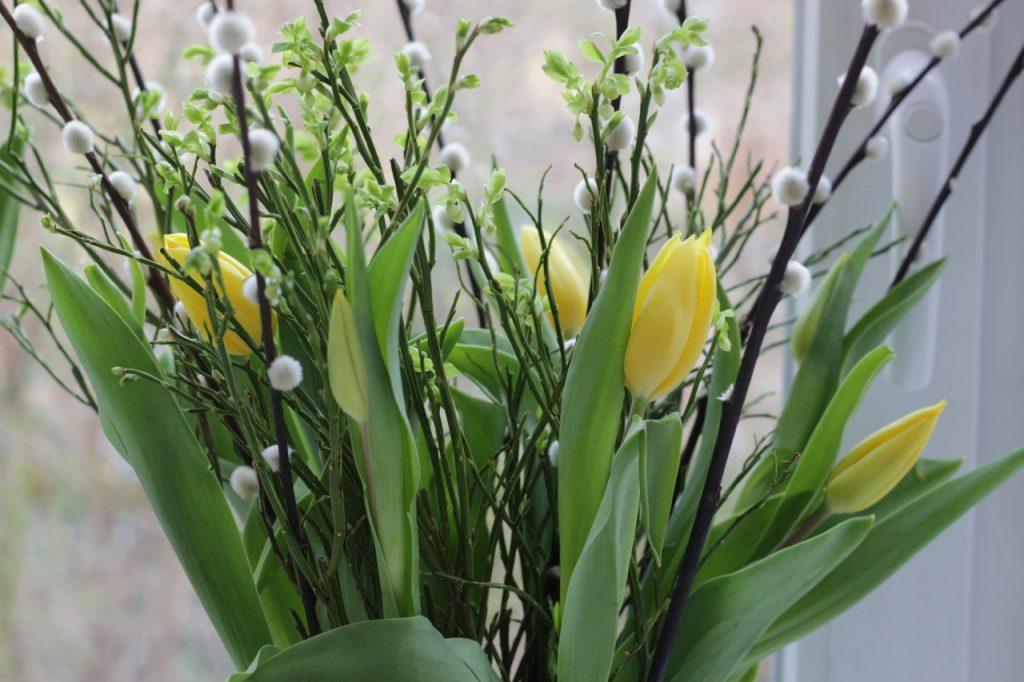 Tulpenstrauß mit gelben Tulpen