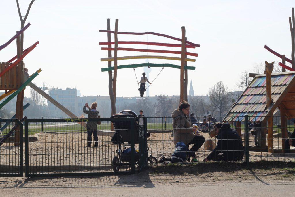 Spielplatz Berlin Mauerpark