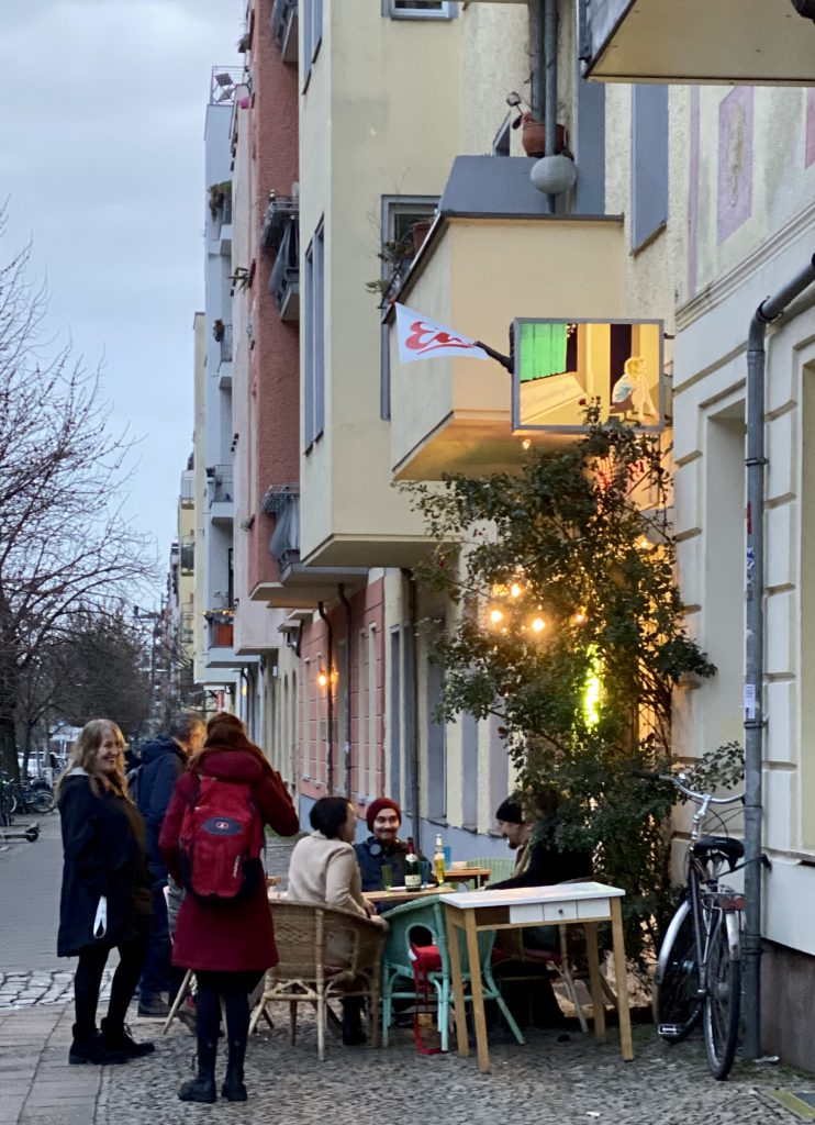 Straßenszene Berlin Prenzlauer Berg