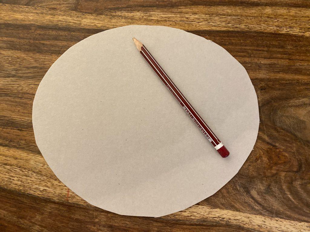 Papp-Einlage rund für Brotkorb aus Brotbeutel
